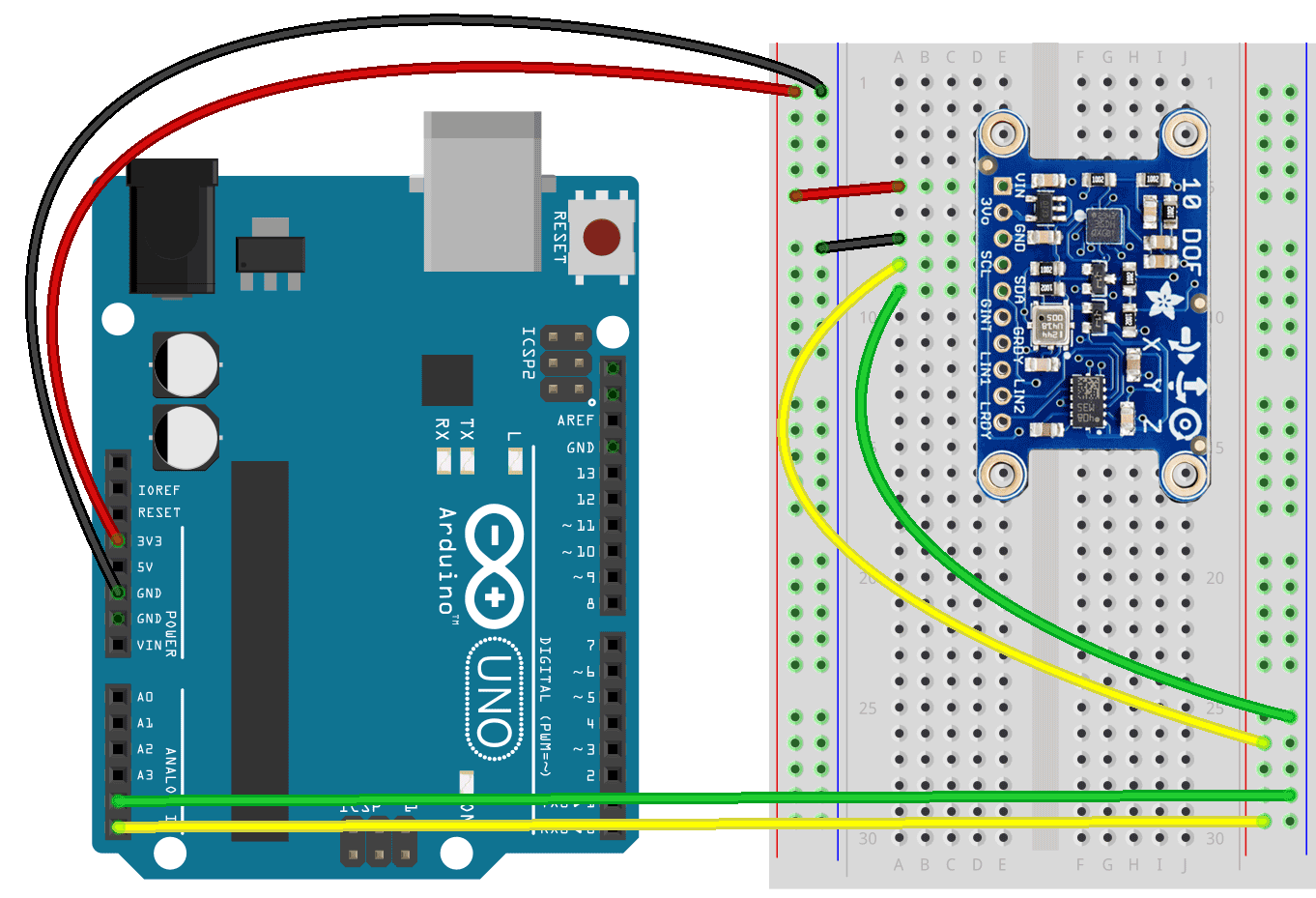 Because Learning Accelerometer Sensor Schematic Diagram This Board Has The Gyroscope Magnetometer And Barometric Pressure Sensors On It